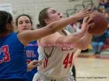 CIAC Girls Basketball; Wolcott 33 vs. St. Paul 59 - Photo # (267)