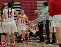 CIAC Girls Basketball; Wolcott 33 vs. St. Paul 59 - Photo # (46)