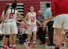 CIAC Girls Basketball; Wolcott 33 vs. St. Paul 59 - Photo # (51)