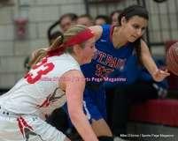 CIAC Girls Basketball; Wolcott 33 vs. St. Paul 59 - Photo # (86)