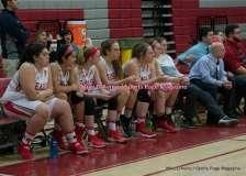 CIAC Girls Basketball; Wolcott 33 vs. St. Paul 59 - Photo # (88)