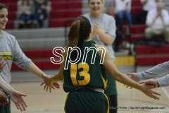 CIAC Girls Basketball - Wolcott 34 vs. Holy Cross 74 (2)