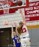 CIAC Girls Basketball; Wolcott 50 vs. Seymour 47 - Photo # (105)
