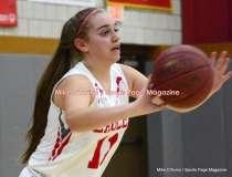 CIAC Girls Basketball; Wolcott 50 vs. Seymour 47 - Photo # (115)