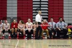 CIAC Girls Basketball; Wolcott 50 vs. Seymour 47 - Photo # (124)