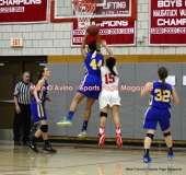CIAC Girls Basketball; Wolcott 50 vs. Seymour 47 - Photo # (125)