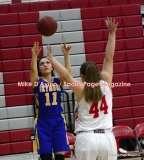 CIAC Girls Basketball; Wolcott 50 vs. Seymour 47 - Photo # (150)