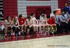 CIAC Girls Basketball; Wolcott 50 vs. Seymour 47 - Photo # (160)