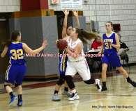 CIAC Girls Basketball; Wolcott 50 vs. Seymour 47 - Photo # (188)