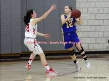 CIAC Girls Basketball; Wolcott 50 vs. Seymour 47 - Photo # (198)