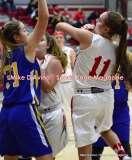 CIAC Girls Basketball; Wolcott 50 vs. Seymour 47 - Photo # (207)