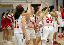 CIAC Girls Basketball; Wolcott 50 vs. Seymour 47 - Photo # (25)