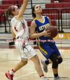 CIAC Girls Basketball; Wolcott 50 vs. Seymour 47 - Photo # (49)