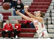 CIAC Girls Basketball; Wolcott 50 vs. Seymour 47 - Photo # (54)