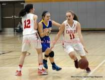 CIAC Girls Basketball; Wolcott 50 vs. Seymour 47 - Photo # (58)