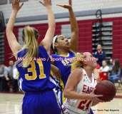 CIAC Girls Basketball; Wolcott 50 vs. Seymour 47 - Photo # (62)
