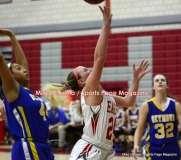 CIAC Girls Basketball; Wolcott 50 vs. Seymour 47 - Photo # (63)