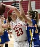 CIAC Girls Basketball; Wolcott 50 vs. Seymour 47 - Photo # (74)