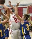 CIAC Girls Basketball; Wolcott 50 vs. Seymour 47 - Photo # (75)