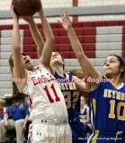 CIAC Girls Basketball; Wolcott 50 vs. Seymour 47 - Photo # (76)