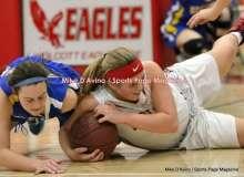 CIAC Girls Basketball; Wolcott 50 vs. Seymour 47 - Photo # (86)