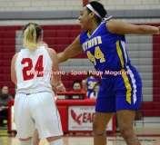 CIAC Girls Basketball; Wolcott 50 vs. Seymour 47 - Photo # (97)