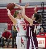 Gallery CIAC Girls Basketball; Wolcott 50 vs. Torrington 54 - Photo # (126)