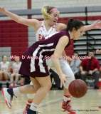 Gallery CIAC Girls Basketball; Wolcott 50 vs. Torrington 54 - Photo # (151)