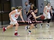 Gallery CIAC Girls Basketball; Wolcott 50 vs. Torrington 54 - Photo # (168)