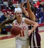 Gallery CIAC Girls Basketball; Wolcott 50 vs. Torrington 54 - Photo # (190)