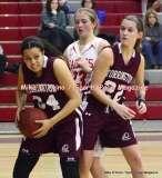 Gallery CIAC Girls Basketball; Wolcott 50 vs. Torrington 54 - Photo # (206)