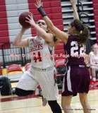 Gallery CIAC Girls Basketball; Wolcott 50 vs. Torrington 54 - Photo # (250)