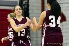 Gallery CIAC Girls Basketball; Wolcott 50 vs. Torrington 54 - Photo # (52)