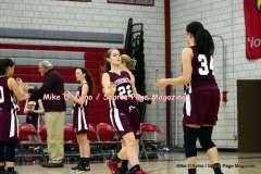 Gallery CIAC Girls Basketball; Wolcott 50 vs. Torrington 54 - Photo # (55)