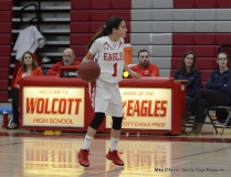 Gallery CIAC Girls Basketball; Wolcott 52 vs. Immaculate 49 Photo # (85)