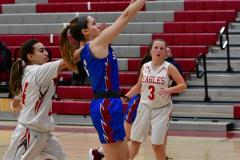 CIAC Girls Basketball; Wolcott vs. St. Paul - Photo # 005