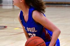 CIAC Girls Basketball; Wolcott vs. St. Paul - Photo # 009