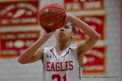 CIAC Girls Basketball; Wolcott vs. St. Paul - Photo # 039