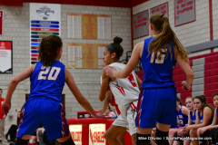 CIAC Girls Basketball; Wolcott vs. St. Paul - Photo # 055