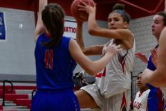CIAC Girls Basketball; Wolcott vs. St. Paul - Photo # 056