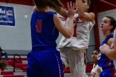 CIAC Girls Basketball; Wolcott vs. St. Paul - Photo # 057