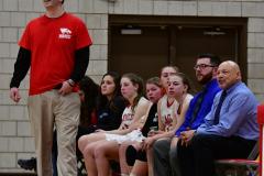 CIAC Girls Basketball; Wolcott vs. St. Paul - Photo # 060