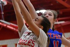 CIAC Girls Basketball; Wolcott vs. St. Paul - Photo # 068