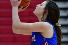 CIAC Girls Basketball; Wolcott vs. St. Paul - Photo # 077