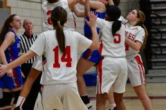 CIAC Girls Basketball; Wolcott vs. St. Paul - Photo # 084