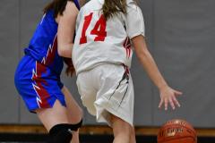 CIAC Girls Basketball; Wolcott vs. St. Paul - Photo # 087