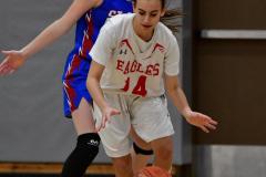CIAC Girls Basketball; Wolcott vs. St. Paul - Photo # 088