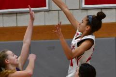 CIAC Girls Basketball; Wolcott vs. St. Paul - Photo # 089
