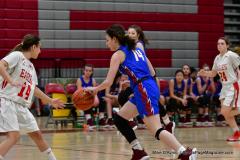 CIAC Girls Basketball; Wolcott vs. St. Paul - Photo # 090