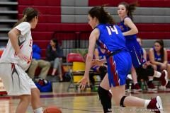 CIAC Girls Basketball; Wolcott vs. St. Paul - Photo # 091